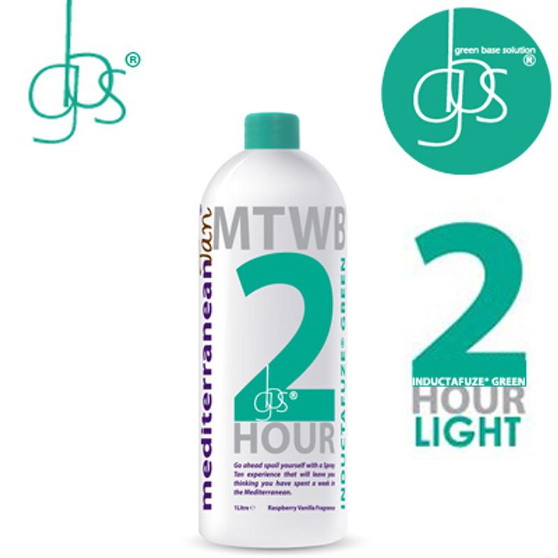 MediterraneanTan® 2 HOUR Light - INDUCTAFUZE® Green - GBS® - 15% DHA