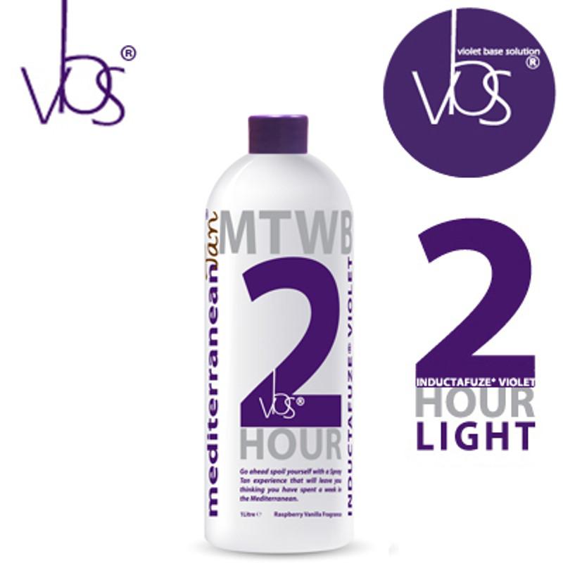 MediterraneanTan® 2 HOUR Light - INDUCTAFUZE® Violet - VBS® - 14% DHA