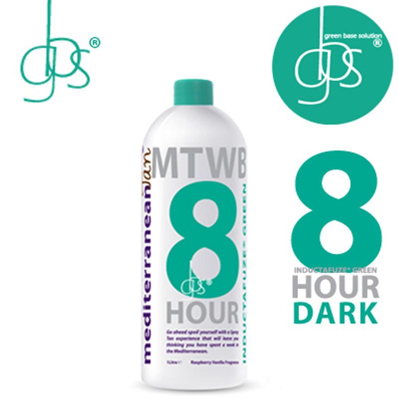 MediterraneanTan® 8 HOUR Dark - INDUCTAFUZE® Green - GBS® - 11% DHA