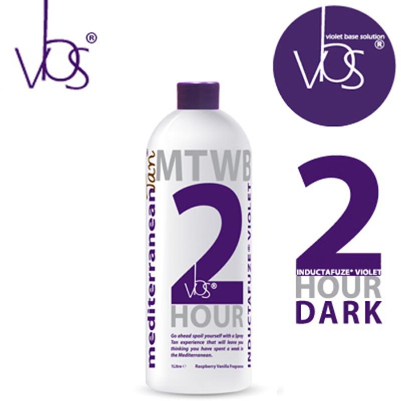 MediterraneanTan® 2 HOUR Dark - INDUCTAFUZE® Violet - VBS®