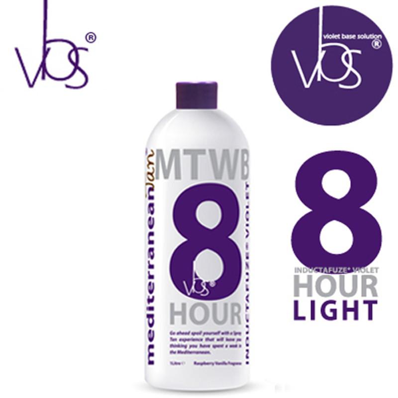 MediterraneanTan® 8 HOUR Light - INDUCTAFUZE® Violet - VBS® - 9.5% DHA
