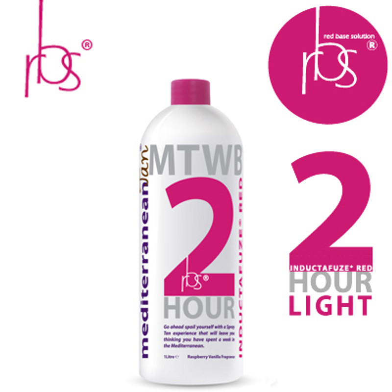 MediterraneanTan® 2 HOUR Light - INDUCTAFUZE® Red - RBS® - 14% DHA