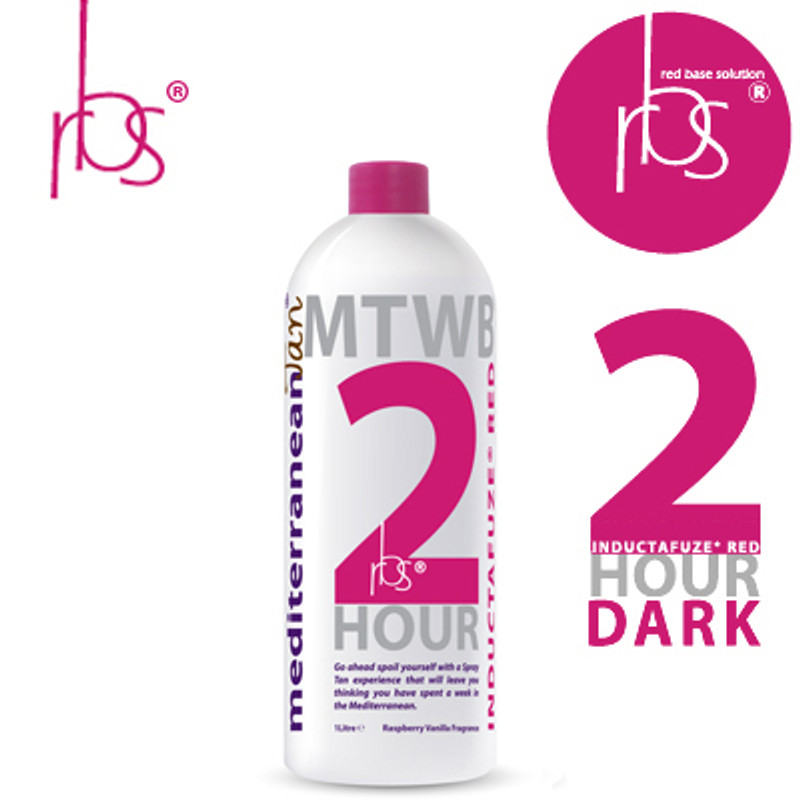 MediterraneanTan® 2 HOUR Dark - INDUCTAFUZE® Red - RBS®