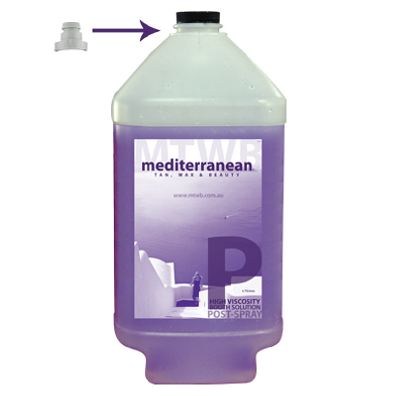 MediterraneanTan® - High Viscosity Booth Solution - Post-Spray