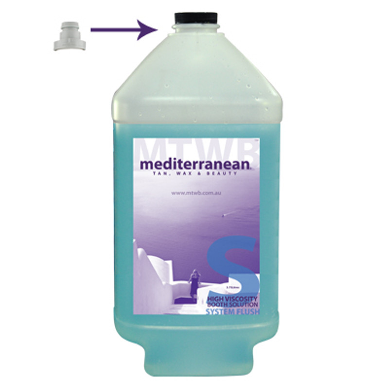 MediterraneanTan® - High Viscosity Booth Solution - System Flush