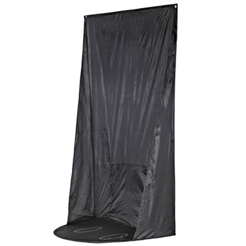 Spray Tan Hanging Curtain with Carry Bag
