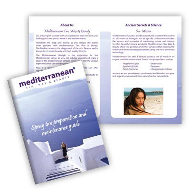 MediterraneanTan® - Spray Tan Preparation and Maintenance Guide