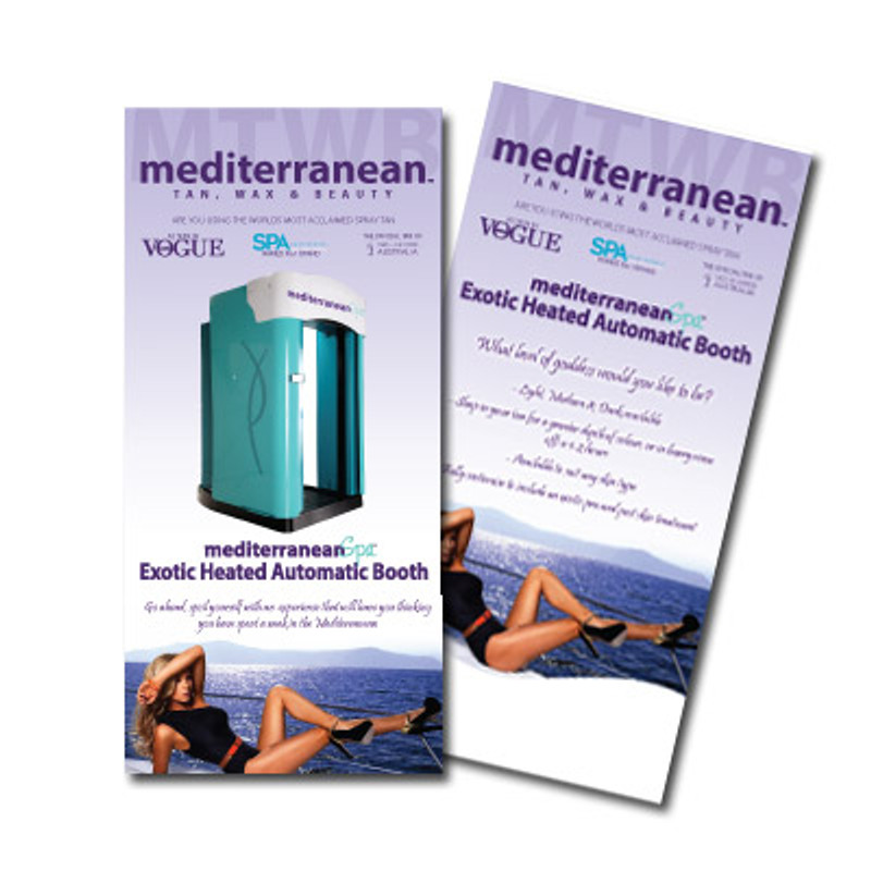 MediterraneanSpa™ Automatic Booth Flyer