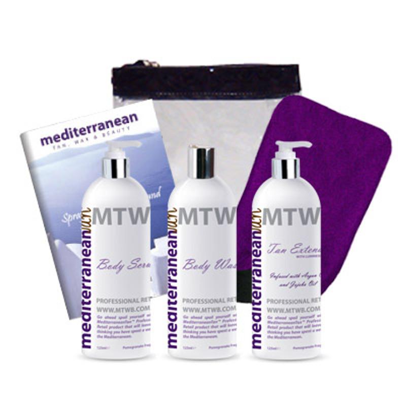 MediterraneanTan® Retail Skin Care Kit
