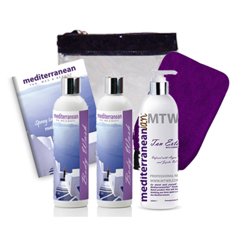 MediterraneanTan® Winter Exotic Pamper Package