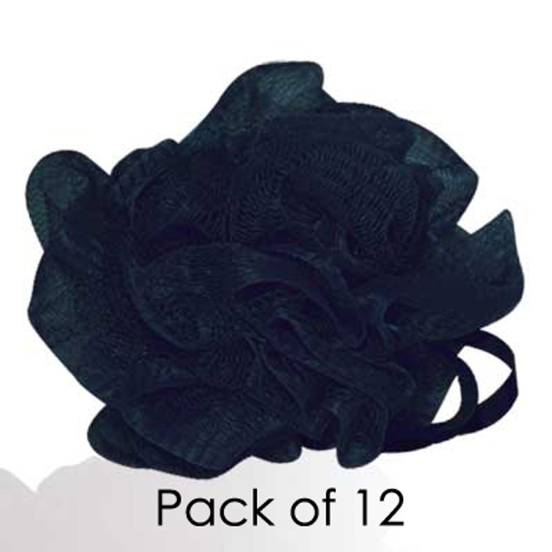 MediterraneanTan® - Body Wash Puff - Black - 10 Pack