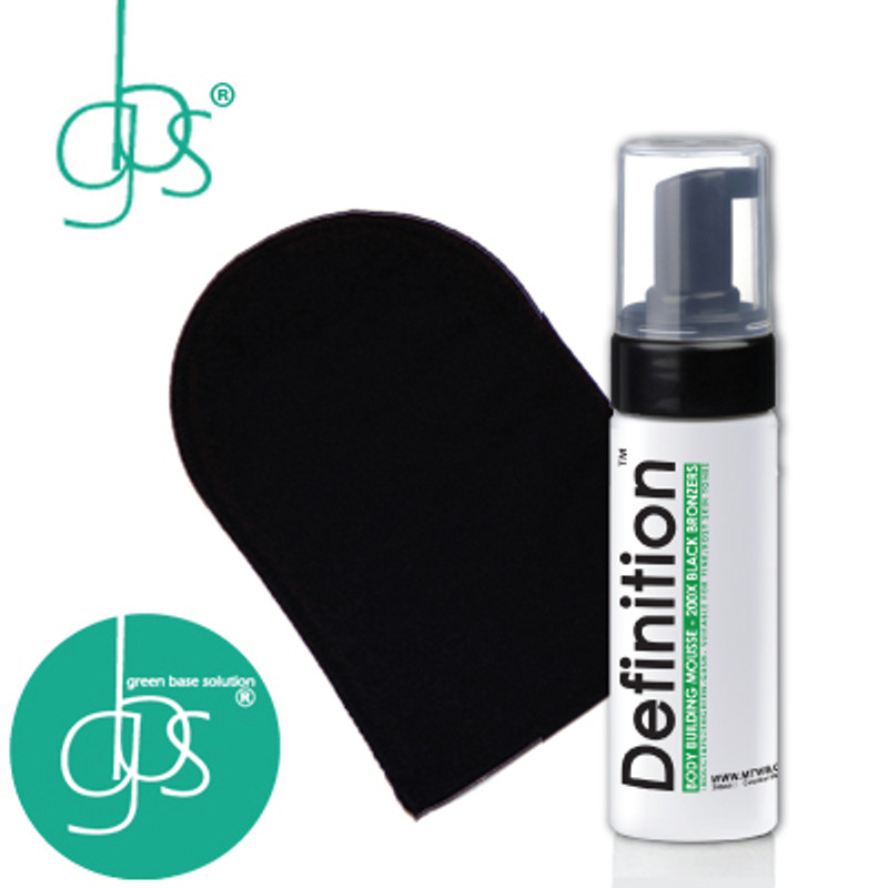 Definition™ Body Building Mousse - 200X BLACK BRONZERS - GBS - 200ml (Includes FREE Tanning Mitt)