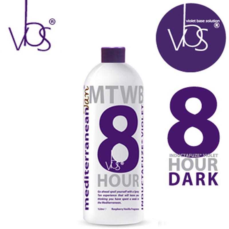 MediterraneanTan® 8 HOUR Dark - INDUCTAFUZE® Violet - VBS® - 12.5% DHA