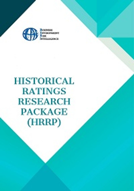 Historical Ratings Research Package (HRRP)