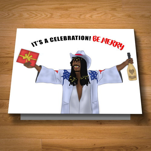 """Celebration 2"" greeting card"
