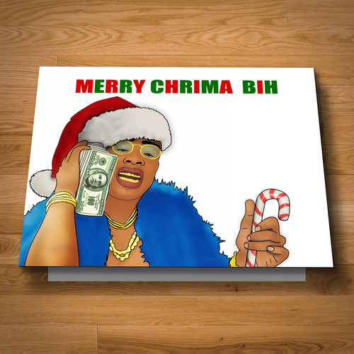 """Chrima"" greeting card"