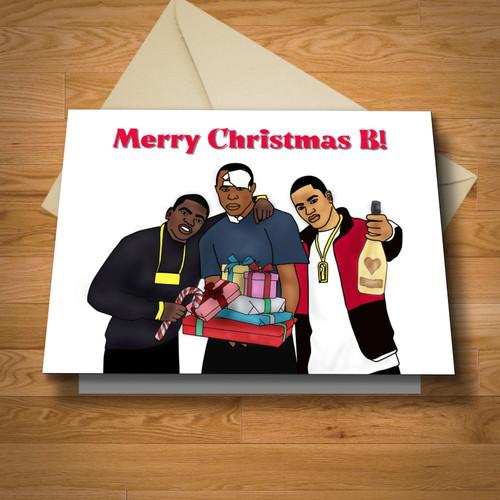 """""""Harlem"""" Christmas card"""