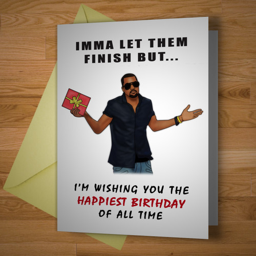 """""""The Greatest Birthday Card Of All Time"""""""
