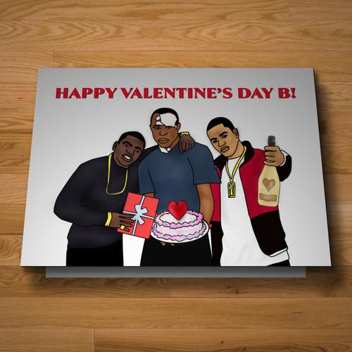 """""""Harlem"""" Valentine's card"""