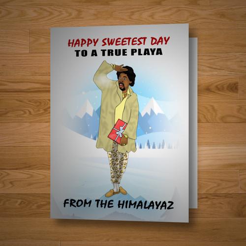 """True Playa"" Sweetest Day Card"