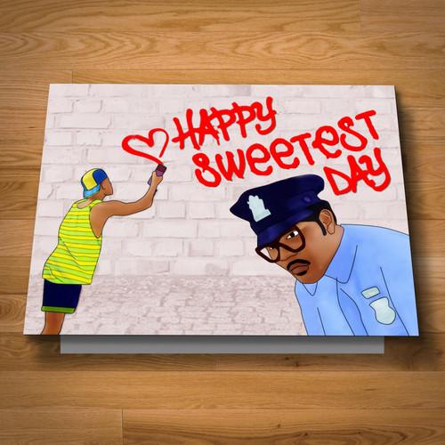 """Fresh Sweetest Day"" card"