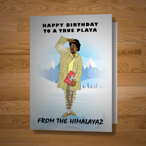 """Himalaya Playa"" card (All Versions)"