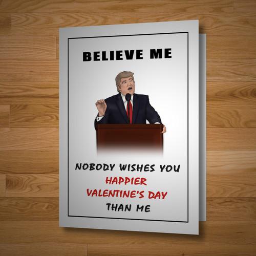 """Presidential"" Valentine's Day Card"