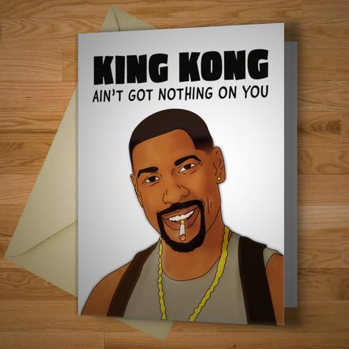 """""""King Kong"""" card"""
