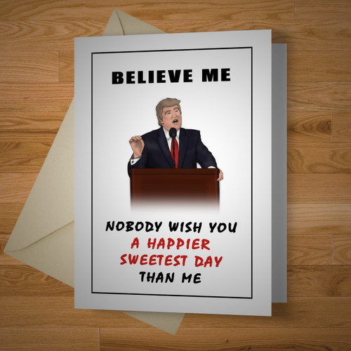 """""""Presidential"""" Sweetest Day Card"""