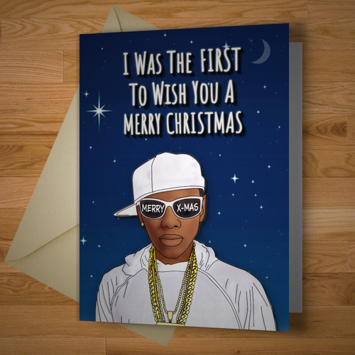The First Christmas Card Ever