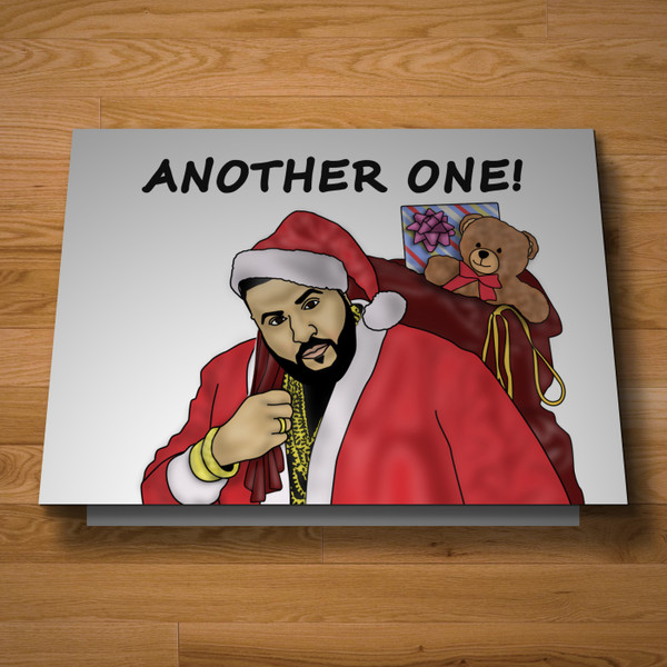 """Another One"" Christmas Card"