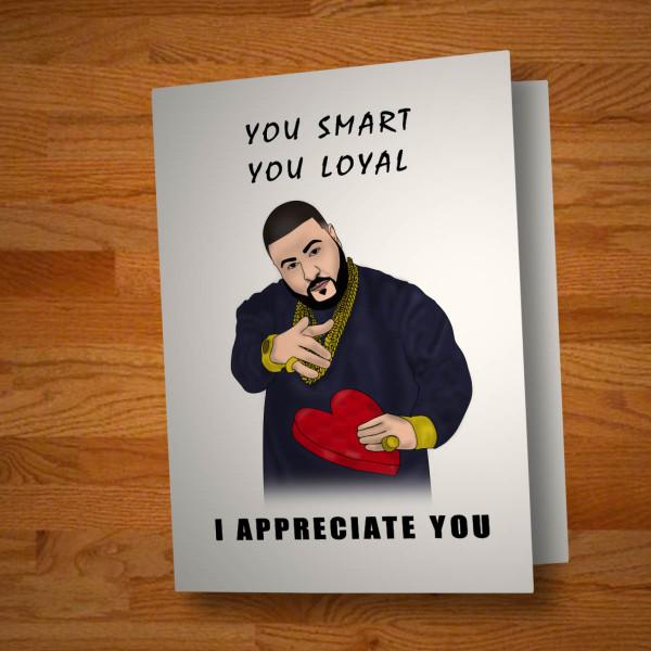"""""""I Appreciate You"""" card"""