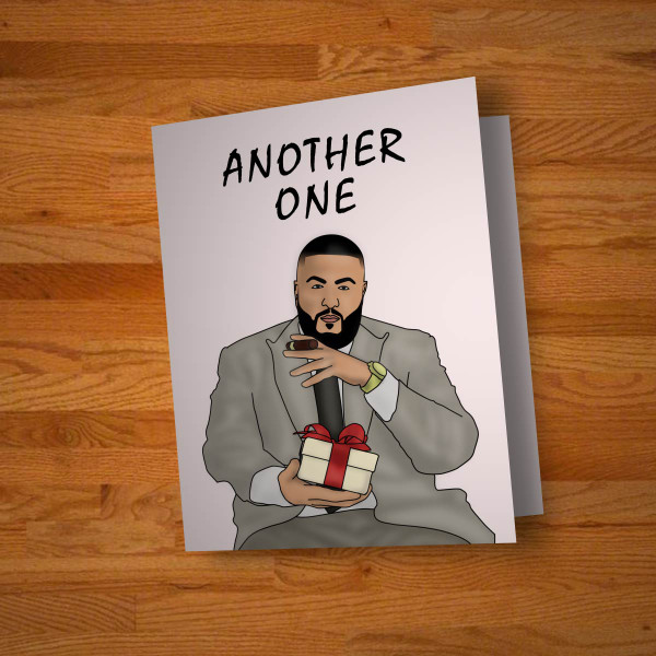 """""""Another One"""" celebration card"""