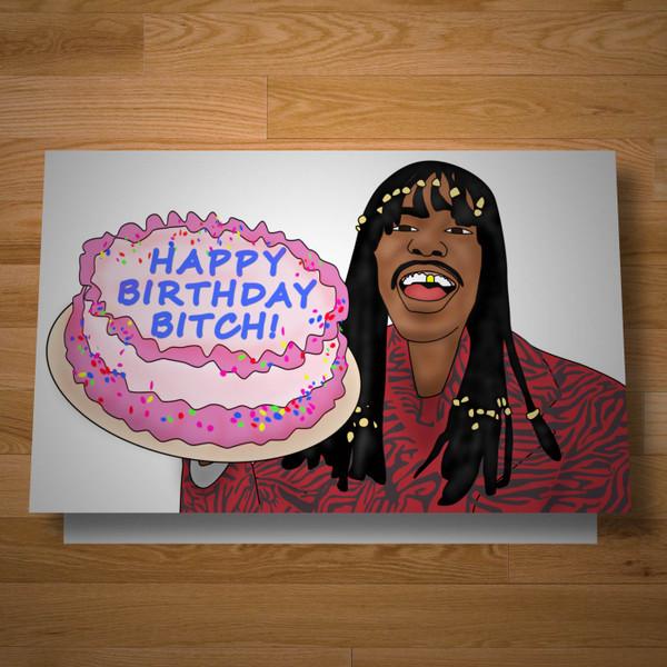 """Celebration"" birthday card"
