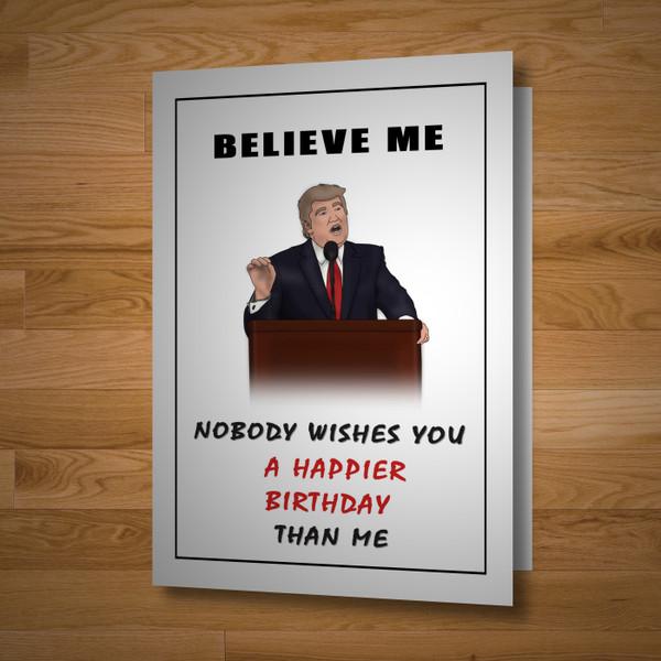 """Presidential"" birthday card"