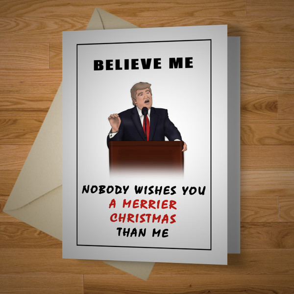 """Presidential"" Christmas card"