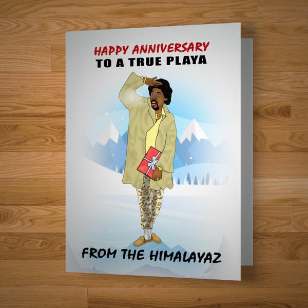 """Himalaya"" Anniversary Card"