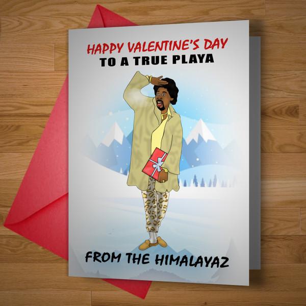 """Himalaya Playa"" Valentines Card"