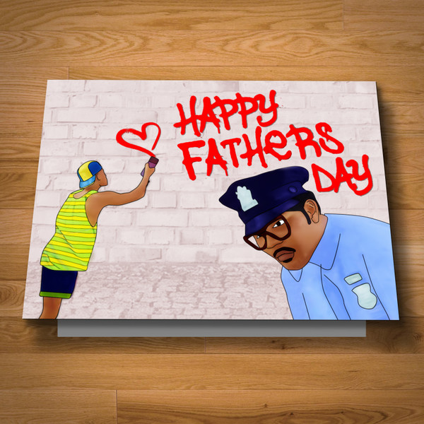 """""""Fresh"""" Father's Day card"""