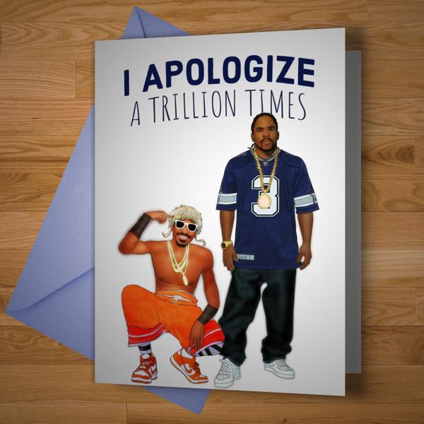 Mrs Jackson Apology Card