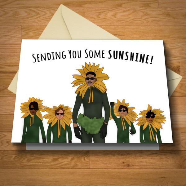 """""""Sending Some Sunshine"""" card"""