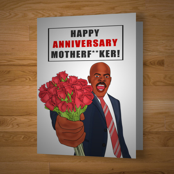 """""""Mfer"""" Anniversary Card"""