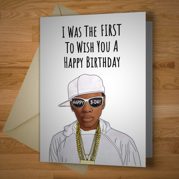 The First Birthday Card Ever