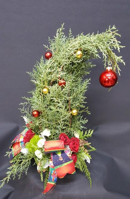 Your alternative Christmas tree!  Call it a Dr. Seuss or Grinch tree, or call it whatever you want!  Customizeable to your specifications or let us create it as the mood strikes us!