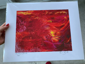 Limited edition print of artwork A Week From Hell