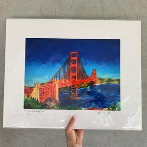 Limited edition print 16x20 of Golden Gate Bridge