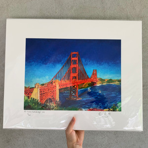 Limited edition print 16x20 of Golden Gate Bridge