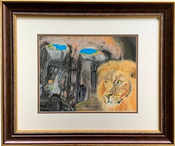 Crown of Lion framed art