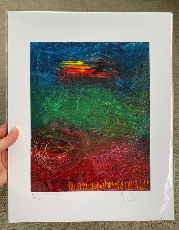 "Limited Edition Print 14"" x 11"" with White Border (Inside Frame: 10"" x 8"")"