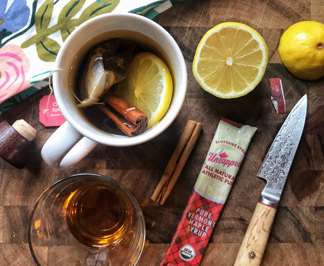 Gretchen Powers' Signature Maple Hot Toddy